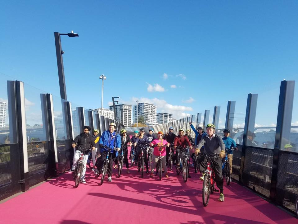 eZee Sprint Rally (And group ride to Lightpath Festival