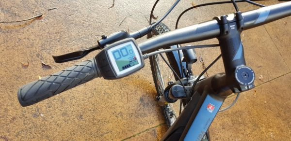 image showing Bosch Purion minimalist display on the handlebar