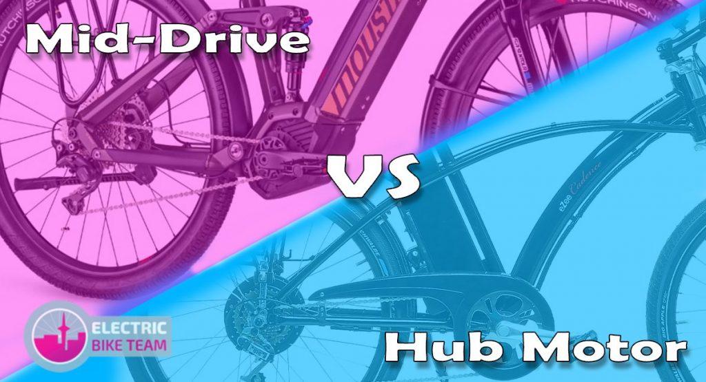 Mid-Drive vs Hub Motor ebikes