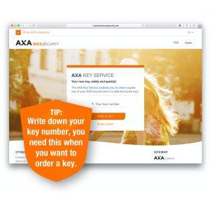 AXA Spare Key Service
